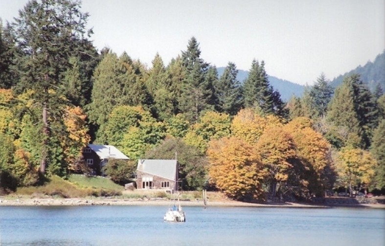 Fall Colors on Salt Spring Island