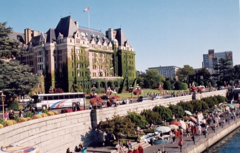 The Empress Hotel, Victoria & Victoria's Harbour