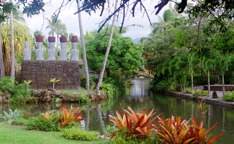 Tropical Plants at the Polynesian Cultural Center